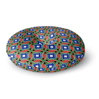 Bruce Stanfield South Africa Round Floor Pillow Size: 26 x 26