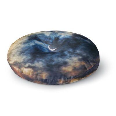 Bruce Stanfield Night Moves Round Floor Pillow Size: 23 x 23