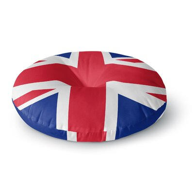 Bruce Stanfield Classic Union Jack Round Floor Pillow Size: 23 x 23