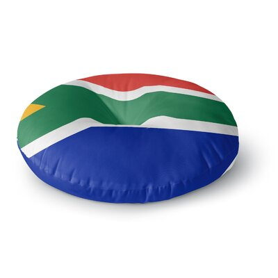 Bruce Stanfield South Africa II Round Floor Pillow Size: 23 x 23