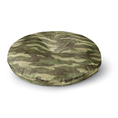 Bruce Stanfield Dirty Camo Round Floor Pillow Size: 23 x 23