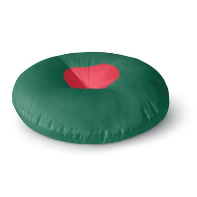 Bruce Stanfield Flag of Bangladesh Digital Round Floor Pillow Size: 26 x 26