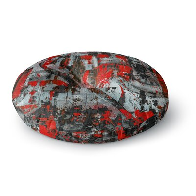 Bruce Stanfield Zinger in Abstract Round Floor Pillow Size: 23 x 23