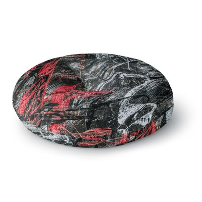 Bruce Stanfield Areus Abstract Round Floor Pillow Size: 26 x 26