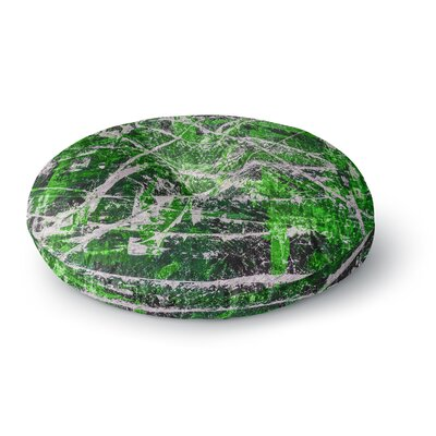 Bruce Stanfield Jade Painting Round Floor Pillow Size: 26 x 26