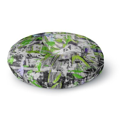 Bruce Stanfield Life Through Adversity 2 Abstract Round Floor Pillow Size: 23 x 23