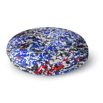 Bruce Stanfield Heiveilea in Modern Round Floor Pillow Size: 23 x 23