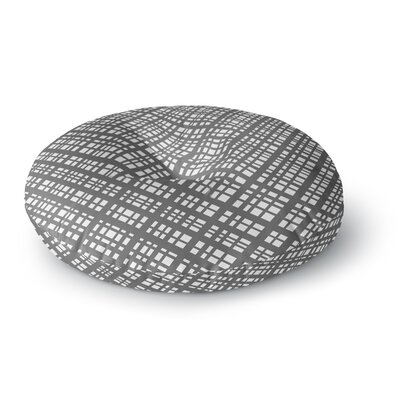 Bruce Stanfield The Bauhaus Grid Digital Round Floor Pillow Size: 26 x 26