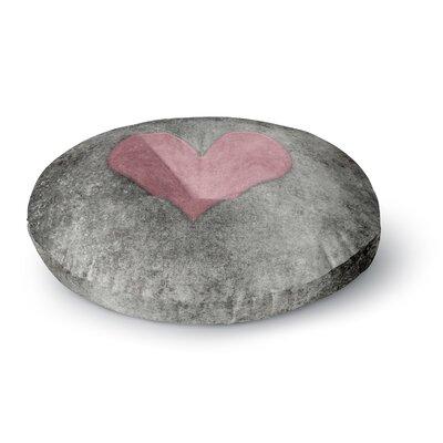 Bruce Stanfield Vintage Valentines Digital Round Floor Pillow Size: 23 x 23