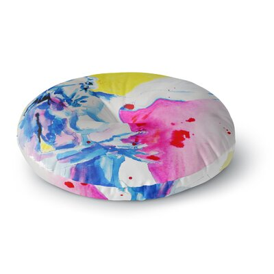 Cecibd Painful Love Round Floor Pillow Size: 23 x 23