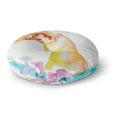 Cecibd Espana I People Round Floor Pillow Size: 23 x 23