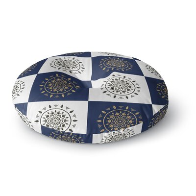 Cristina Bianco Design Mandalas Pattern Round Floor Pillow Size: 26 x 26