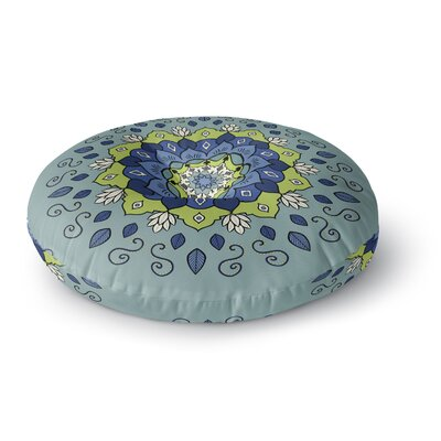 Cristina Bianco Design Mandala Geometric Round Floor Pillow Size: 23 x 23