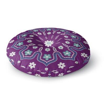 Cristina Bianco Design Mandala Illustration Round Floor Pillow Size: 23 x 23