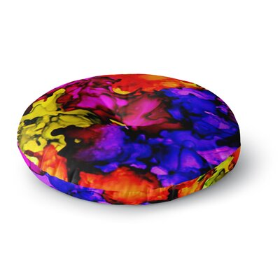 Claire Day Chica Round Floor Pillow Size: 23 x 23