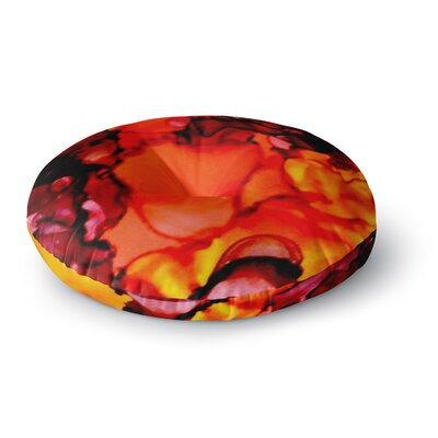 Claire Day Mordor Round Floor Pillow Size: 26 x 26