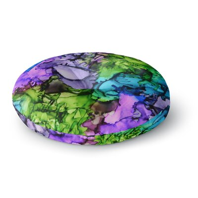 Claire Day Cellar Door Round Floor Pillow Size: 23 x 23