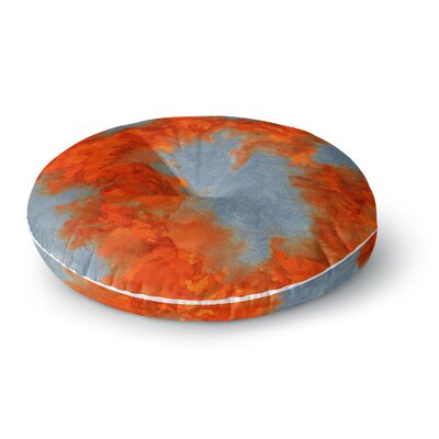 Claire Day Broken Promises Abstract Painting Round Floor Pillow Size: 23 x 23
