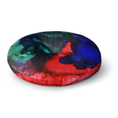 Claire Day Harmony Abstract Painting Round Floor Pillow Size: 23 x 23