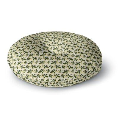 Mayacoa Studio Pine Cone Round Floor Pillow Size: 26 x 26