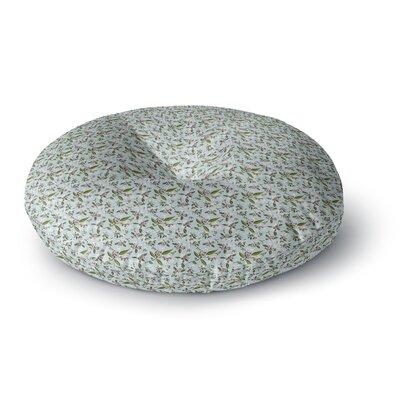 Mayacoa Studio Jasmine Round Floor Pillow Size: 23 x 23