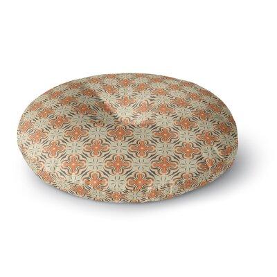 Mayacoa Studio Geometric Tile Geometric Round Floor Pillow Size: 26 x 26