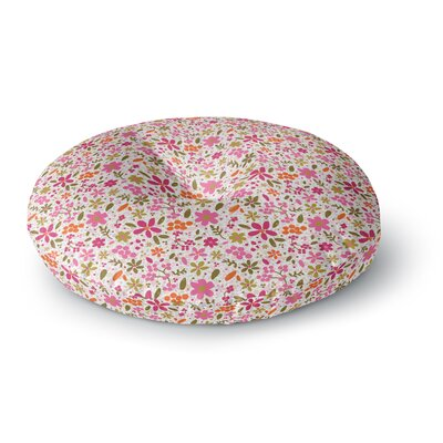 Carolyn Greifeld Flowers Garden Round Floor Pillow Size: 23 x 23