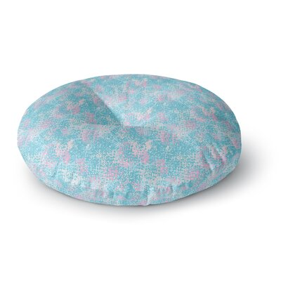 Carolyn Greifeld Painterly Painting Round Floor Pillow Size: 23 x 23
