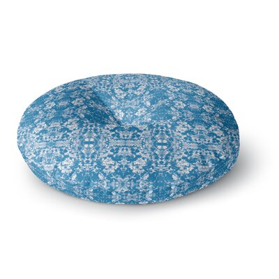 Carolyn Greifeld Modern Damask Damask Pattern Round Floor Pillow Size: 26 x 26