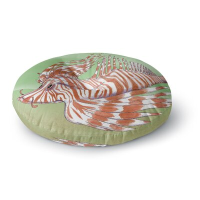 Catherine Holcombe Fish Manchu Round Floor Pillow Size: 26 x 26