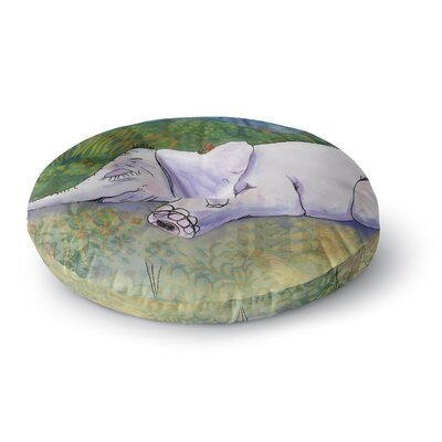 Catherine Holcombe Ernies Dream Round Floor Pillow Size: 26 x 26