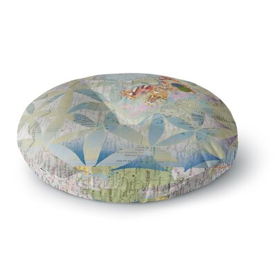 Catherine Holcombe Miraculous Recovery Butterfly Round Floor Pillow Size: 23