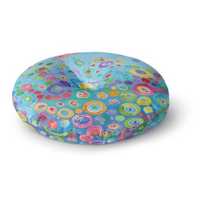 Catherine Holcombe Inner Circle Round Floor Pillow Size: 26 x 26