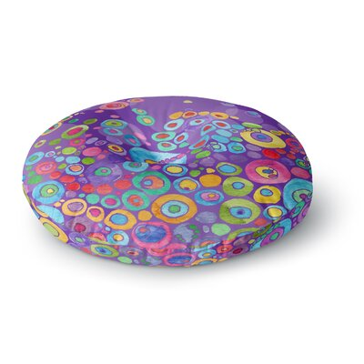 Catherine Holcombe Inner Circle Round Floor Pillow Size: 26 x 26, Color: Purple