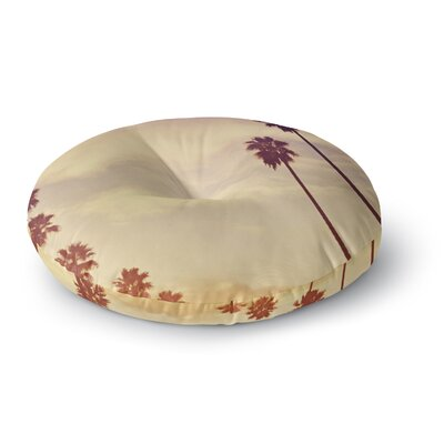 Catherine McDonald Endless Summer Round Floor Pillow Size: 26 x 26