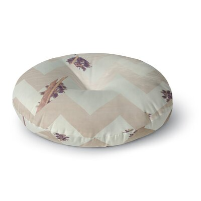 Catherine McDonald Oasis Round Floor Pillow Size: 26
