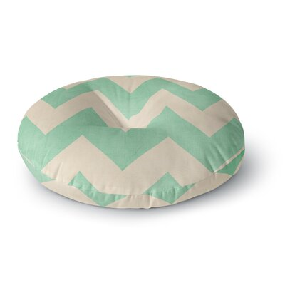 Catherine McDonald Malibu Round Floor Pillow Size: 23 x 23, Color: Mint