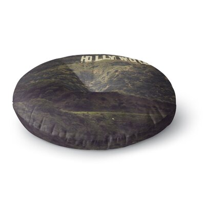 Catherine McDonald Hollywood Round Floor Pillow Size: 26 x 26