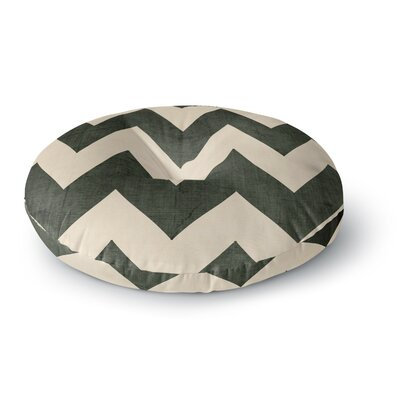 Catherine McDonald Malibu Round Floor Pillow Size: 26 x 26, Color: Gray