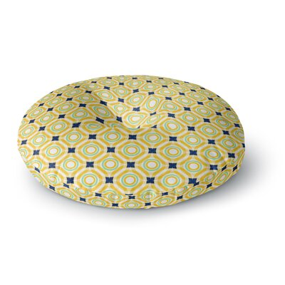 Catherine McDonald Tossing Pennies II Round Floor Pillow Size: 26 x 26