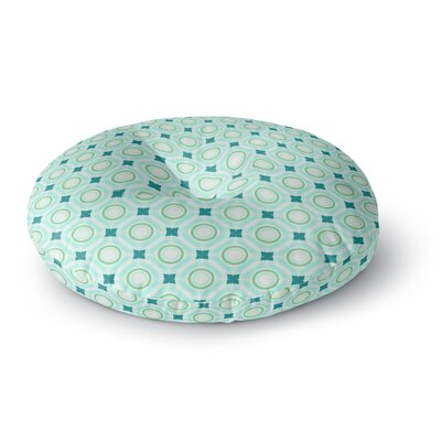 Catherine McDonald Tossing Pennies I Round Floor Pillow Size: 26 x 26