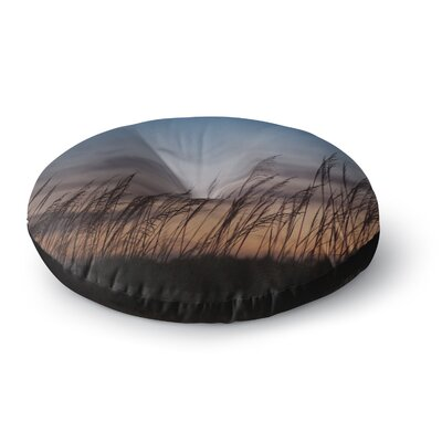 Catherine McDonald Sunset on the Beach Round Floor Pillow Size: 23 x 23