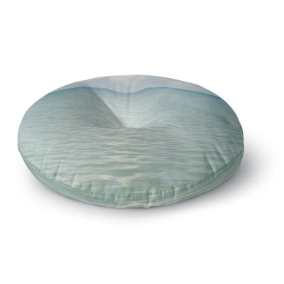 Catherine McDonald Cloud Reflection Round Floor Pillow Size: 26 x 26