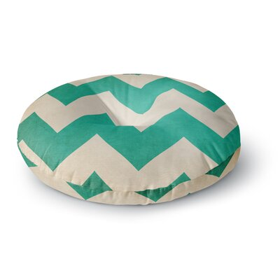 Catherine McDonald Malibu Round Floor Pillow Size: 23 x 23, Color: Teal