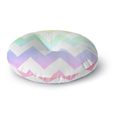 Catherine McDonald Malibu Round Floor Pillow Size: 23 x 23, Color: Purple