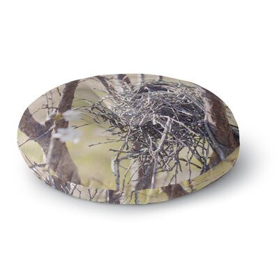 Catherine McDonald Nest Round Floor Pillow Size: 23 x 23