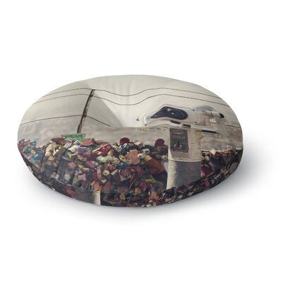 Catherine McDonald The View Seoul Round Floor Pillow Size: 26 x 26