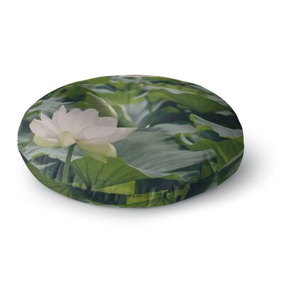 Catherine McDonald Lotus Round Floor Pillow Size: 23 x 23