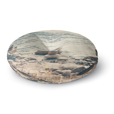 Catherine McDonald River Cairns Round Floor Pillow Size: 23 x 23