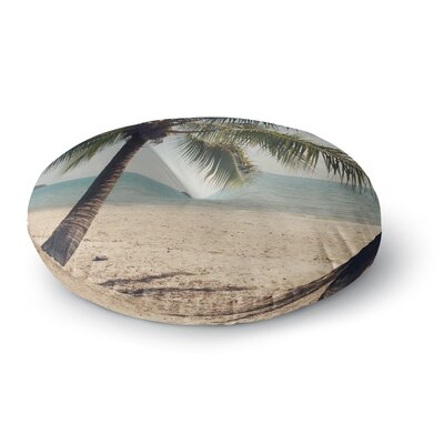 Catherine McDonald Tropic of Capricorn Ocean Photography Round Floor Pillow Size: 23 x 23